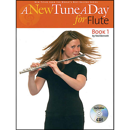Music Sales A New Tune A Day for Flute Book/CD