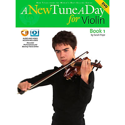 Music Sales A New Tune A Day for Violin Book 1 CD And DVD