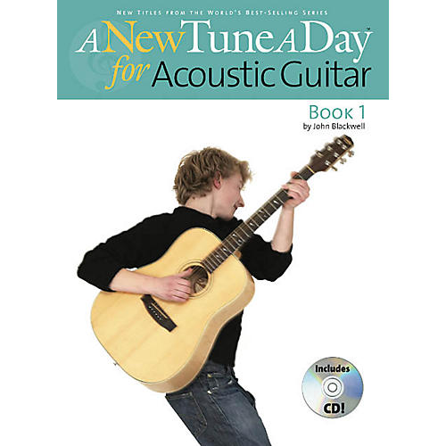 Music Sales A New Tune a Day - Acoustic Guitar, Book 1 Music Sales America Series Softcover with CD by John Blackwell