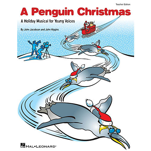 Hal Leonard A Penguin Christmas (A Holiday Musical for Young Voices) PREV CD Composed by John Higgins