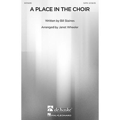 De Haske Music A Place in the Choir SATB arranged by Janet Wheeler
