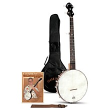 Gold Tone A-Scale Cripple Creek Left-Handed Banjo Clawhammer Package