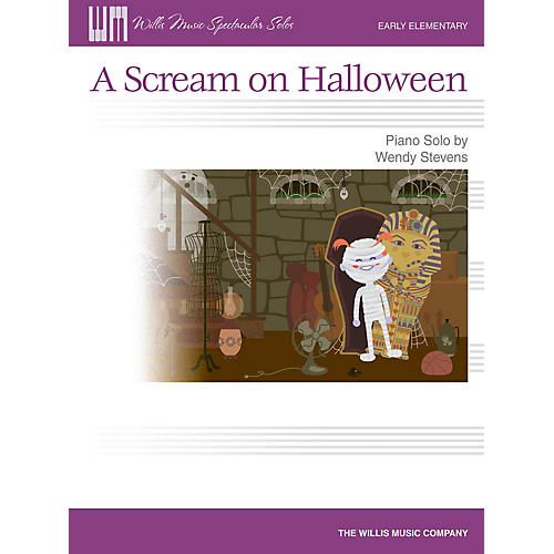 Willis Music A Scream on Halloween (Early Elem Level) Willis Series by Wendy Stevens