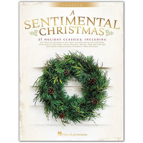Hal Leonard A Sentimental Christmas for Ukulele