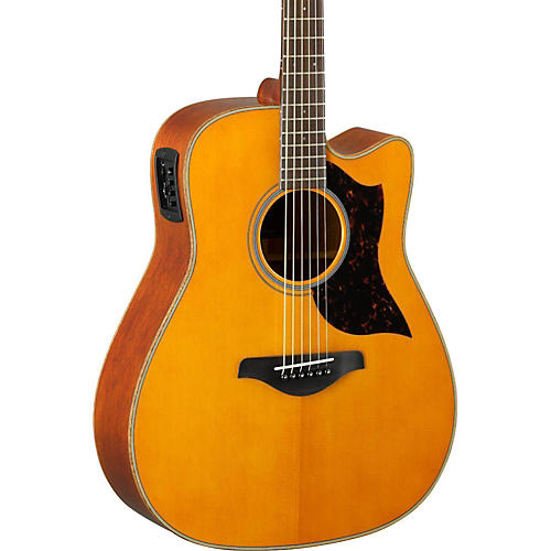 yamaha a series a1m cutaway dreadnought acoustic electric guitar musician 39 s friend. Black Bedroom Furniture Sets. Home Design Ideas