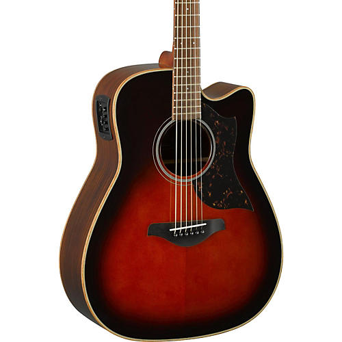 Yamaha A-Series A1R Cutaway Dreadnought Acoustic-Electric Guitar