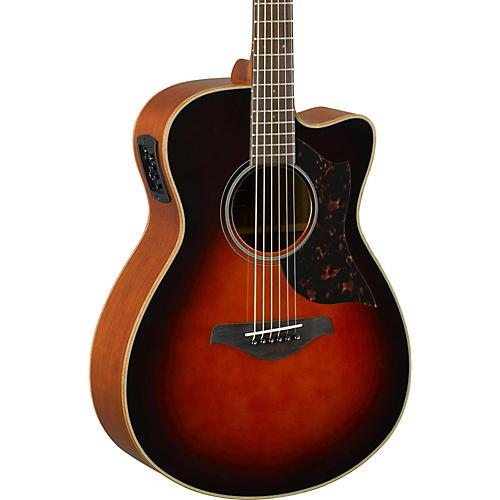 Yamaha A-Series AC1M Cutaway Concert Acoustic-Electric Guitar