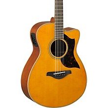 A-Series AC1M Cutaway Concert Acoustic-Electric Guitar Vintage Natural