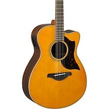 Open BoxYamaha A-Series AC1R Cutaway Concert Acoustic-Electric Guitar