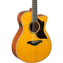Open Box Yamaha A-Series AC3M Cutaway Concert Acoustic-Electric Guitar
