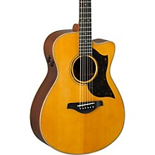 Open Box Yamaha A-Series AC5R Cutaway Concert Acoustic-Electric Guitar