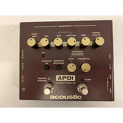 Acoustic A Series Acoustic Instrument Preamp And DI Guitar Preamp