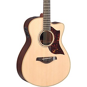 yamaha a series all solid wood concert acoustic electric guitar with srt preamp pickup. Black Bedroom Furniture Sets. Home Design Ideas