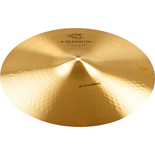 Zildjian A Series & CIE Vintage Hi-Hat Cymbal Bottom