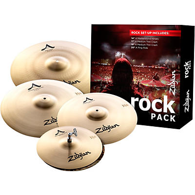 Zildjian A Series Cymbal Pack Rock