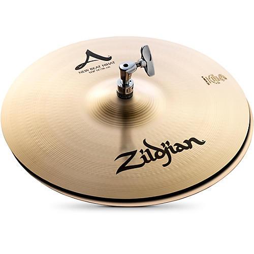 Zildjian A Series New Beat Hi-Hat Cymbal Pair 14 in.