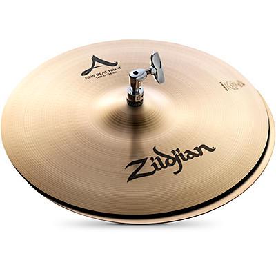 Zildjian A Series New Beat Hi-Hat Cymbal Pair