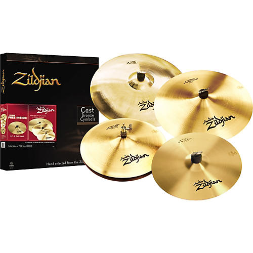 Zildjian A Series Promotional Cymbal Pack with Free 14