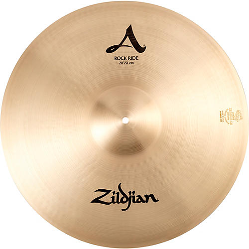 zildjian a series rock ride cymbal 20 in musician 39 s friend. Black Bedroom Furniture Sets. Home Design Ideas