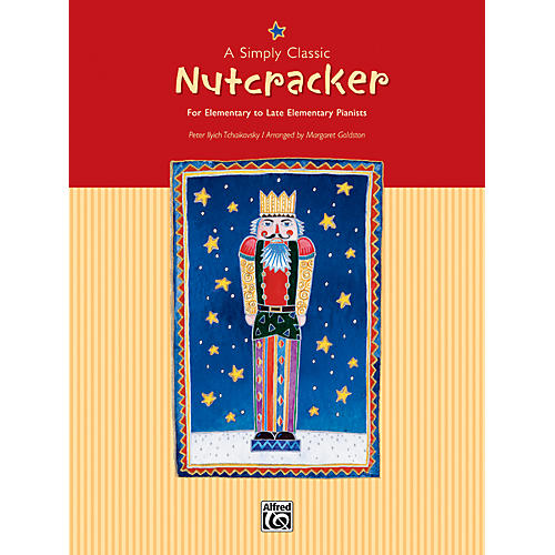 Alfred A Simply Classic Nutcracker Piano Book