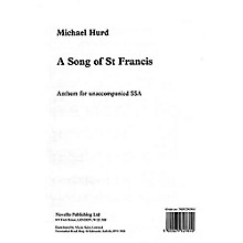 Novello A Song of Saint Francis SSA Composed by Michael Hurd