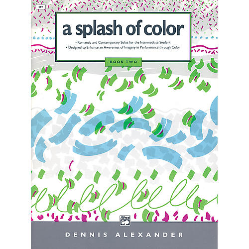 Alfred A Splash of Color Book 2 Book 2