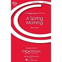 Boosey and Hawkes A Spring Morning (- A Pastoral CME Beginning) UNIS composed by Henry Carey