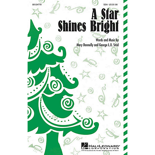 Hal Leonard A Star Shines Bright SSA composed by Mary Donnelly