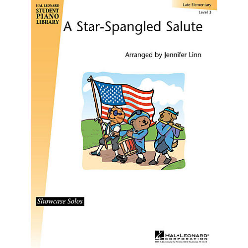 Hal Leonard A Star-Spangled Salute Piano Library Series (Level Late Elem)