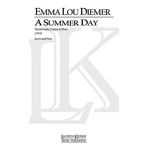 Lauren Keiser Music Publishing A Summer Day: Trio for Violin, Clarinet and Piano LKM Music Series by Emma Lou Diemer