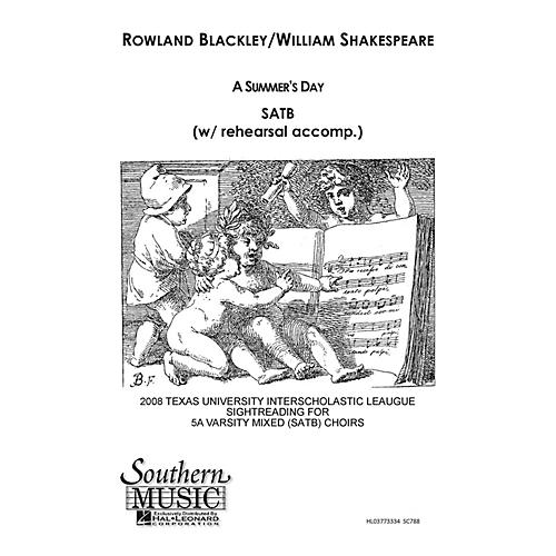 Southern A Summer's Day SATB Composed by Rowland Blackley