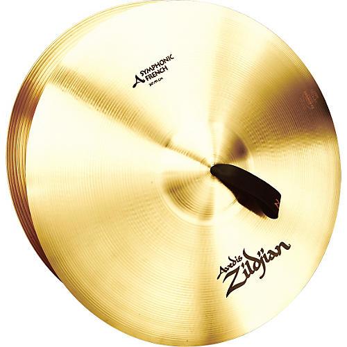 Zildjian A Symphonic French Tone Crash Cymbal Pair 20 in.
