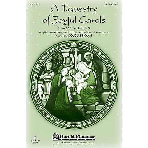 Shawnee Press A Tapestry of Joyful Carols Studiotrax CD Composed by Douglas Nolan