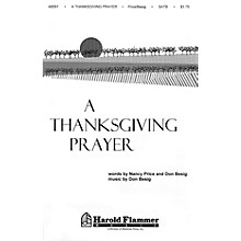 Shawnee Press A Thanksgiving Prayer 2-Part Composed by Don Besig