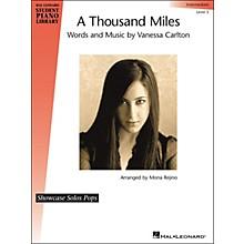 Hal Leonard A Thousand Miles - Showcase Solo Level 5 Intermediate Hal Leonard Student Piano Library by Mona Rejino