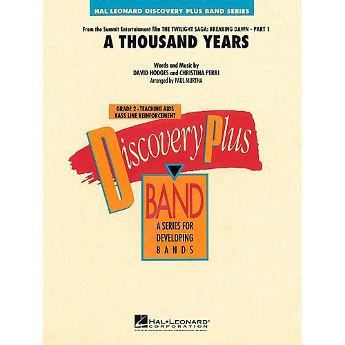 Hal Leonard A Thousand Years Concert Band Level 2