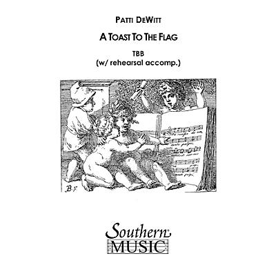 Hal Leonard A Toast To The Flag (Choral Music/Octavo Secular Tbb) TBB Composed by Dewitt, Patti