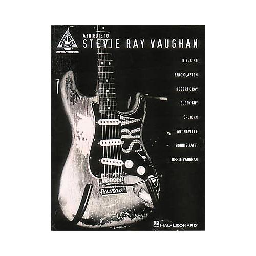 Hal Leonard A Tribute to Stevie Ray Vaughan Guitar Tab Book