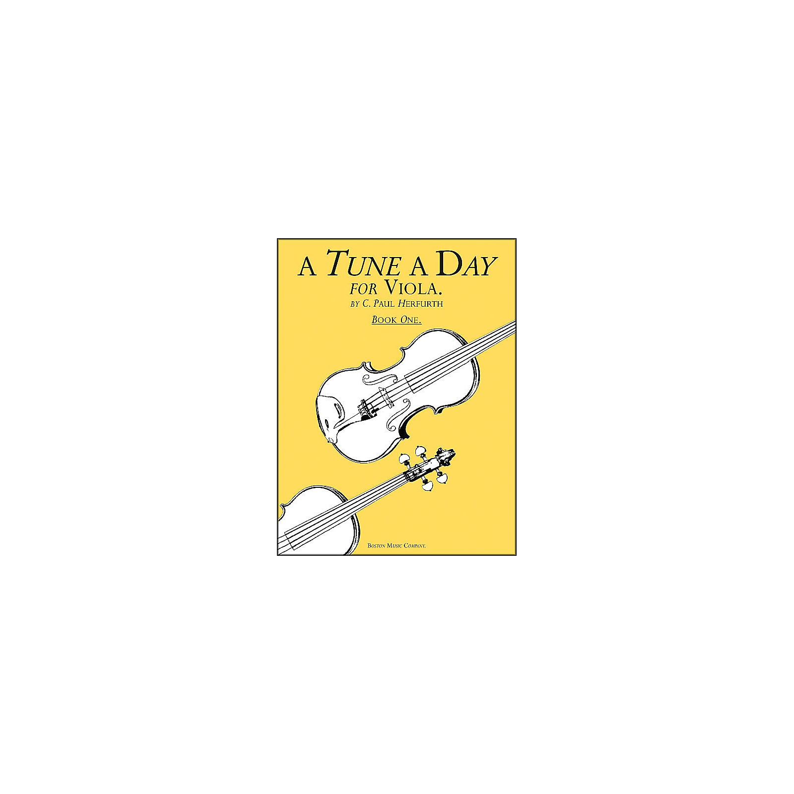 Music Sales A Tune A Day Viola Book 1