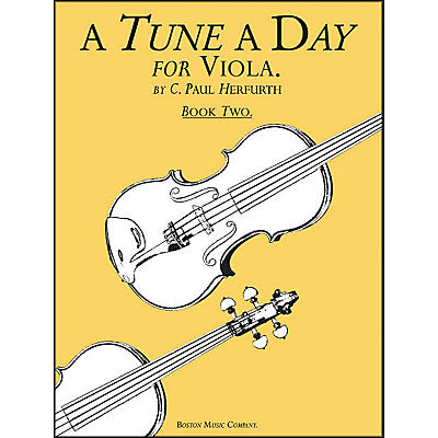 Music Sales A Tune A Day Viola Book 2
