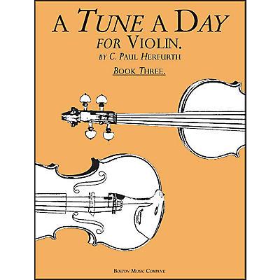 Music Sales A Tune A Day for Violin Book 3