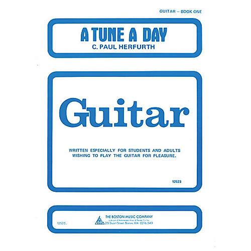 Music Sales A Tune a Day - Guitar (Book 1) Music Sales America Series Written by C. Paul Herfurth