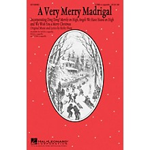 Hal Leonard A Very Merry Madrigal TTBB A Cappella composed by Kirby Shaw