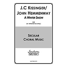 Hal Leonard A Winter Snow (Choral Music/Octavo Secular Satb) SATB Composed by Hemmenway, John