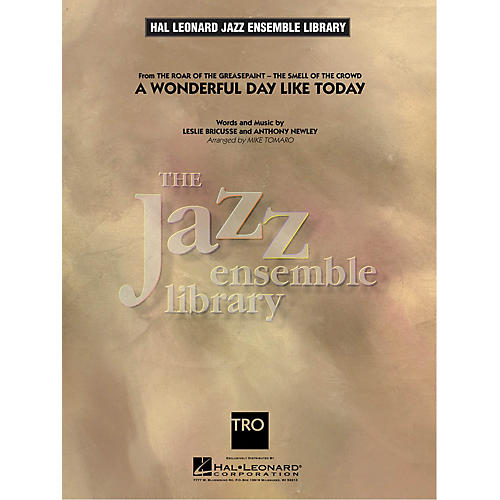 Hal Leonard A Wonderful Day Like Today Jazz Band Level 4 Arranged by Mike Tomaro