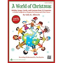 Alfred A World of Christmas: Holiday Songs, Carols, and Customs from 15 Countries Book & CD Kit