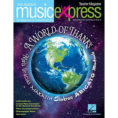 Hal Leonard A World of Thanks Vol. 15 No. 2 (October/November 2014) PREMIUM COMPLETE PAK Composed by John Jacobson