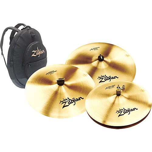zildjian a zildjian 4 piece cymbal pack musician 39 s friend. Black Bedroom Furniture Sets. Home Design Ideas