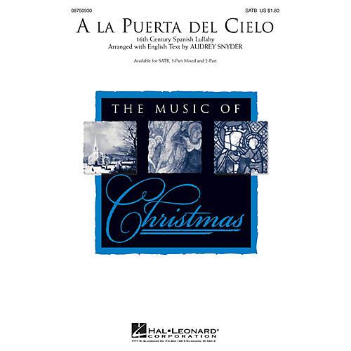 Hal Leonard A la Puerta del Cielo 2-Part Arranged by Audrey Snyder