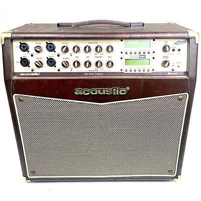 Acoustic A1000 2x50W Stereo Acoustic Guitar Combo Amp